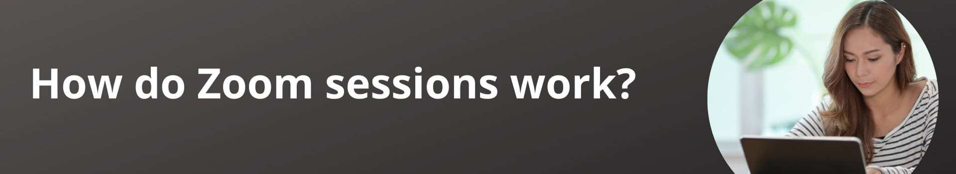 How do Zoom sessions work?